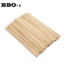 100 шт. бамбуковые шампуры торнадо картофельные палочки 25 см х 3 мм принадлежности для барбекю деревянные шампуры Фруктовый стикер для десертов бамбуковые палочки