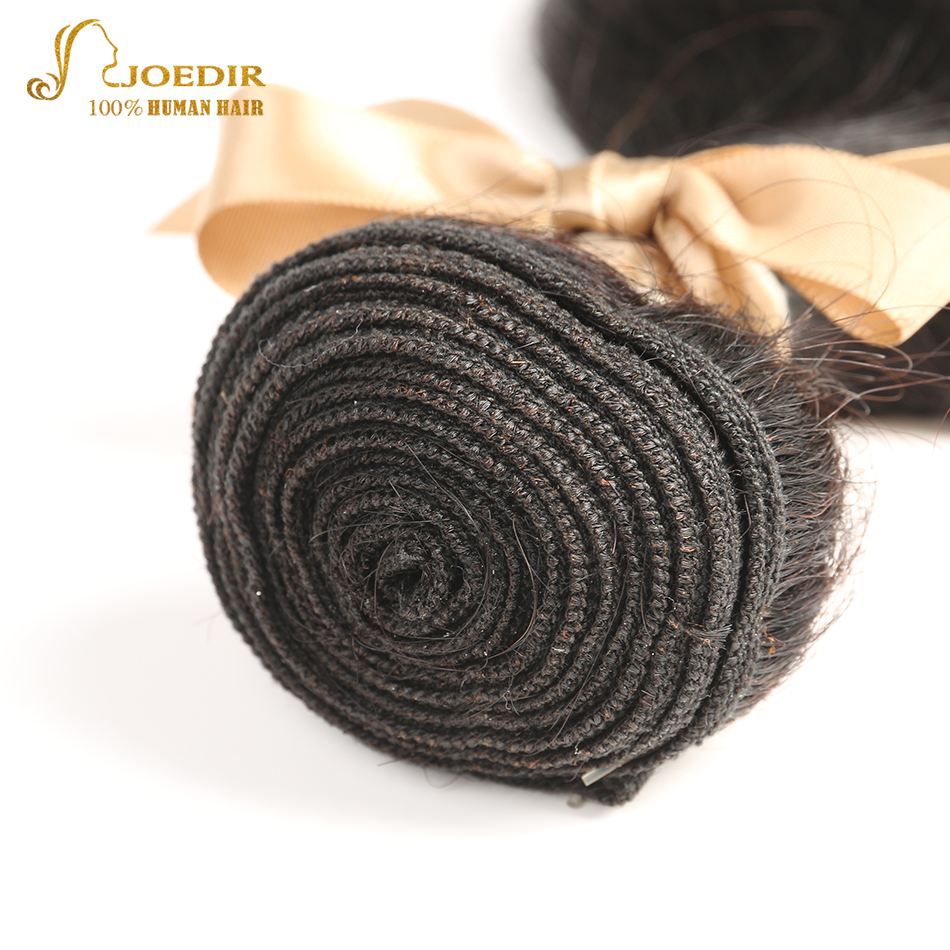 Joedir Outlet Brazilian Hair 2PCS Body Wave Hair Extensions 8-28 inch Bodywave 100% Human Hair Bundles Free Ship Natural Color