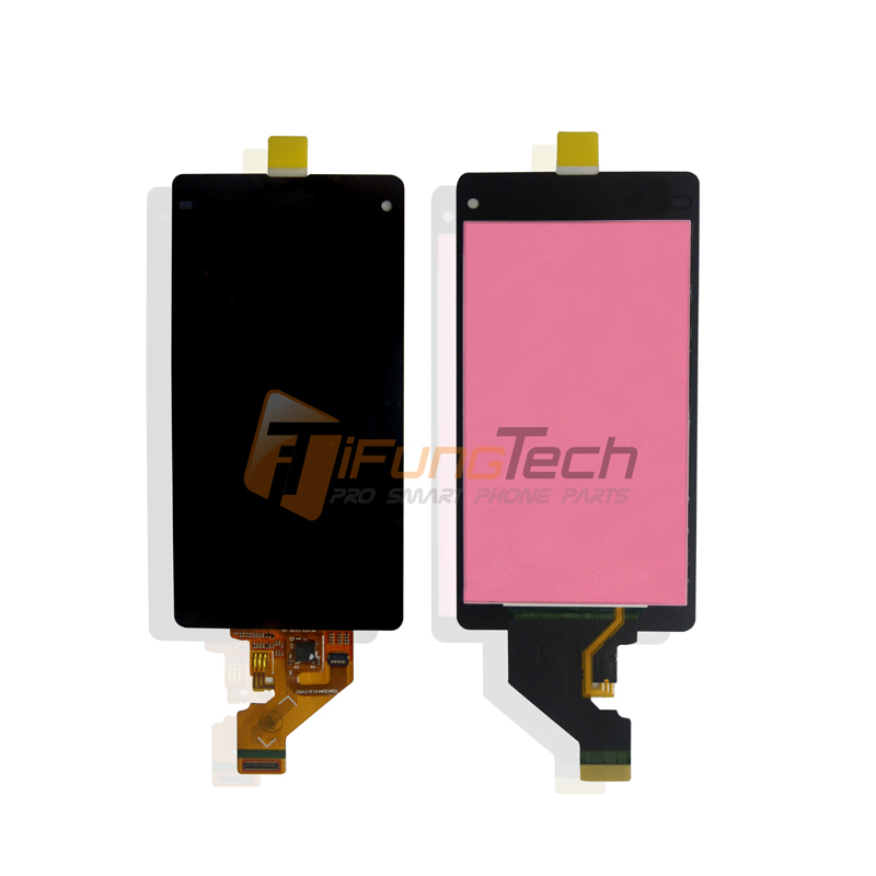 5pcs Free DHL EMS For Sony Xperia Z1 Mini Compact New Full LCD Display Screen Panel + Touch Screen Digitizer Glass Assembly dhl ems 5 new for pro face touchscreen glass agp3300 l1 d24 f4