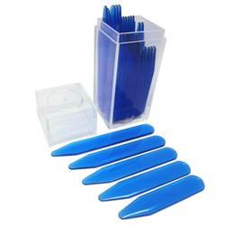 SHANH Зун синий пластик воротник остается кости для женщин мужчин торжественное платье рубашка 30 шт. в бутылки 5 размеров