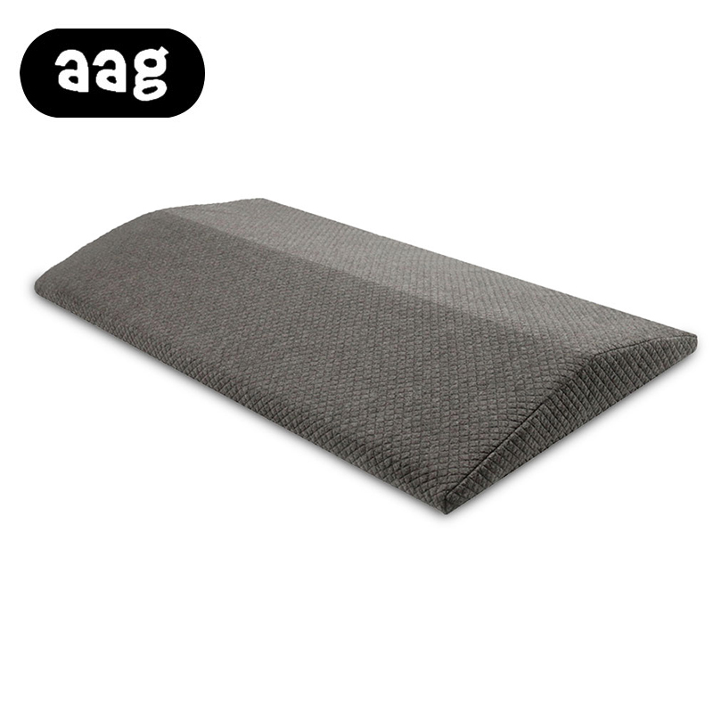 AAG Best Quality Factory Direct Brand Gray Triangular Lumbar Pillow For Sleeping Or Pregnant Cotton