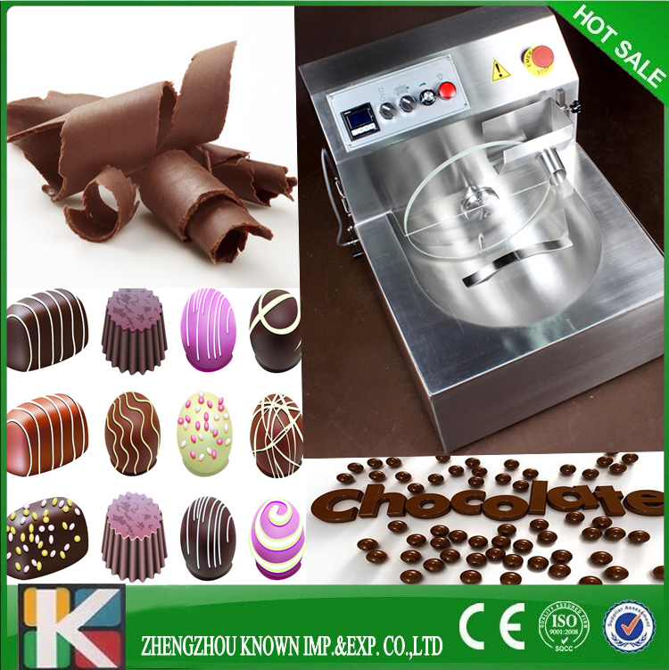 304 stainless steel chocolate tempering/making/ melting machine for sale(8kg)