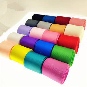 Hot Sale Multi Colors Width 1-1/2 inch 38MM (5 Yards) Grosgrain Ribbons For Wedding Party Decoration DIY Gift Wrapping Scrapbook(China)