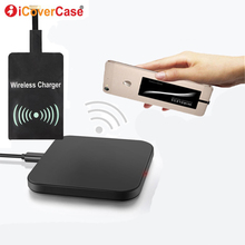 цена на Qi Wireless Charger Power Pad For Samsung Galaxy A8s A10 A30 A50 Power Bank Wireless Charging Receiver and Cover Case Hoesje