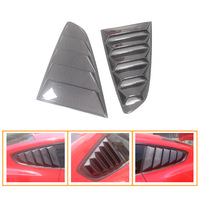 Mustang Tuning Parts Carbon Replace For Ford Mustang Carbon Fiber Rear Window Louvers 2015 2016 GT350R Style