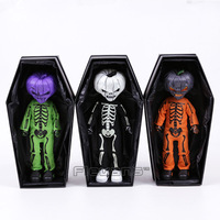 Living Dead Dolls Presents Halloween 2016 Jack O Lantern Horror Figure Toy Fluorescent Doll