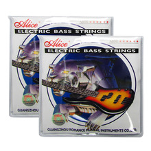 2 Sets Alice A606(4)-M Electric Bass Strings Medium for 4-string Bass j colizzi 4 concerti for string quartet op 2