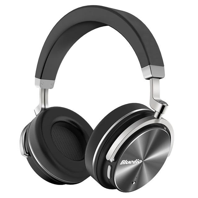 Bluedio t4ใช้งานเสียงยกเลิกไร้สายบลูทูธหูฟังไร้สายชุดหูฟังกับไมค์