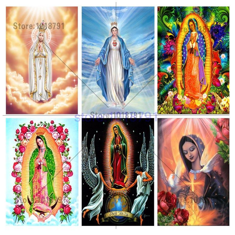 Cross Stitch diy Diamond Painting Religious of the Virgin Gift For Home Decoration icons Series Diamond Embroidery Painting