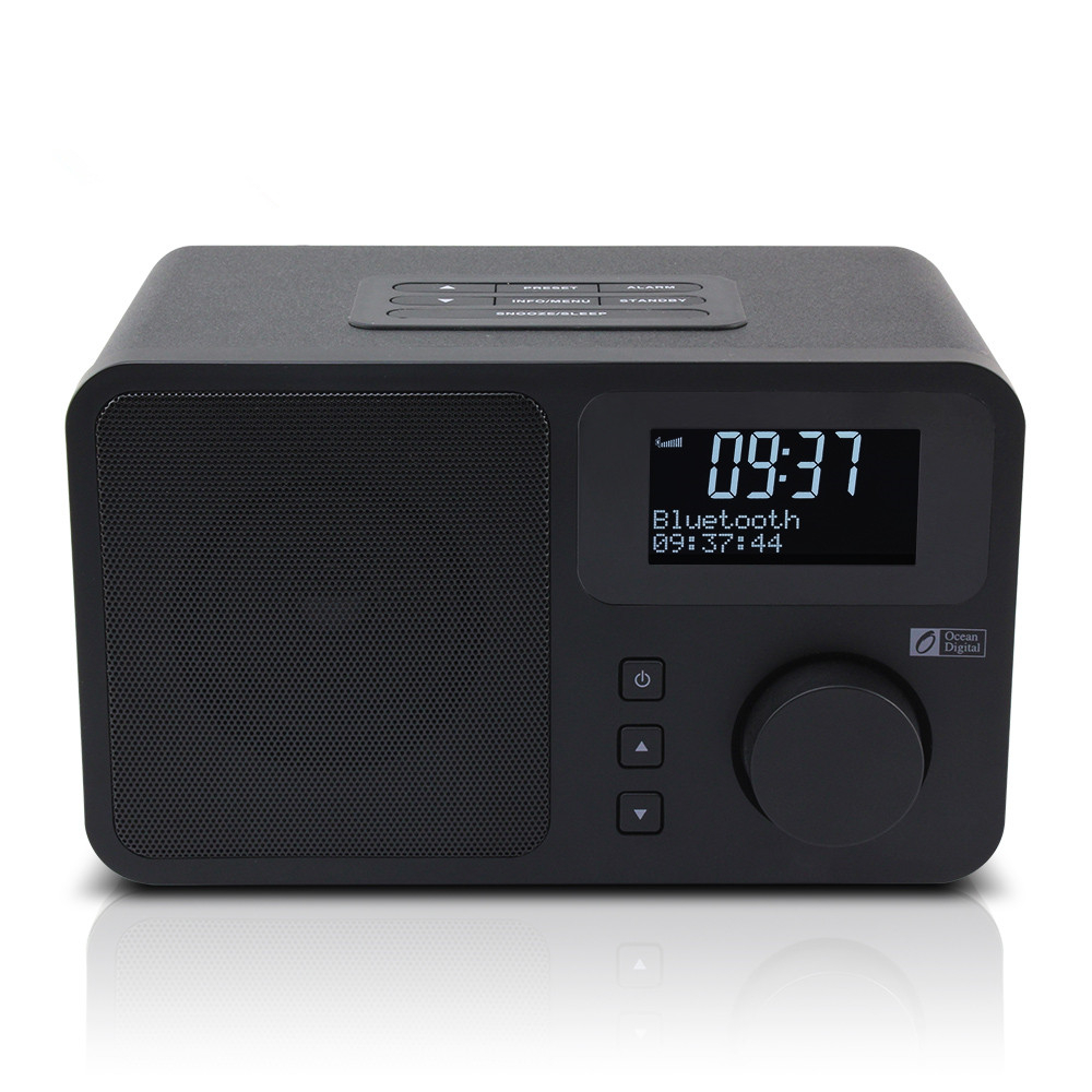 Digital Radio Bluetooth Dual Alarm Multi-sprache Menü Intelligent Dab/dab /fm Radio Ozean Digitale Db-230b Dab