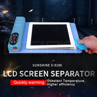 Nova versão da tela lcd spearator placa de aquecimento com porta usb para o iphone ipad telefone móvel máquina de abertura da tela lcd Conj. ferramentas elétricas     -