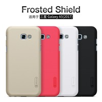 Nillkin Frosted Phone Bag Case For Samsung Galaxy A5 2017 Hard Plastic Matte Back Cover Screen