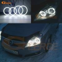 For Opel Zafira B 2005 2014 headlight Excellent Ultra bright illumination smd led Angel Eyes kit DRL