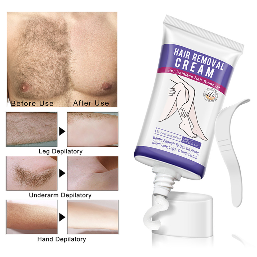 Painless Hair Removal Cream Remove Permanent Hair Depilatory Cream
