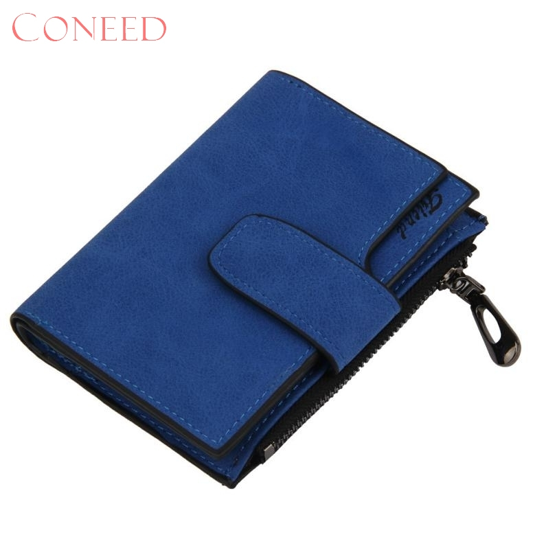 coneed charming nice best gift women mini grind magic bifold leather wallet card holder wallet purse sep18 r30 in wallets from luggage bags on - Best Card Holder Wallet