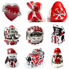 Btuamb Maxi Luxurious Crystal Watermelon Butterfly Car Castle Charm Beads Fit Pandora Bracelets Bangles for Women Making Jewelry(China)