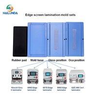 3pcs/set OCA /LCD /Glass Alignment Positioning Laminating Mould Vacuum Laminator Universal Molds For Samsung S6/S7 edge S8 S8+