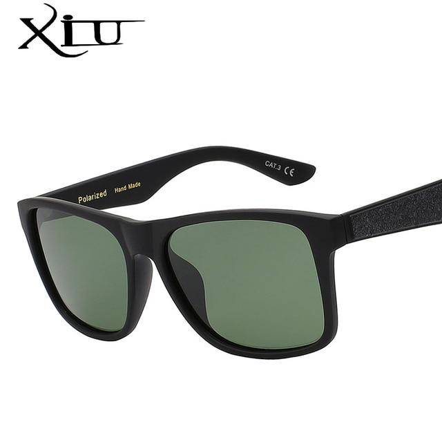 39217fb2ab3 XIU 2017 New Polarized Sunglasses Men Brand Designer Square Male Vintage  Eeywear Top Quality Fashion Man