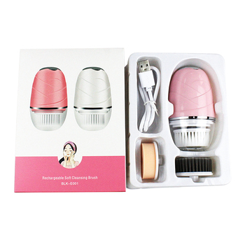 Electric Facial Cleansing Brush Waterproof Deep Pore Clean Remove Blackhead Acne USB Recharge Brush Machine Face Skin Care Tool