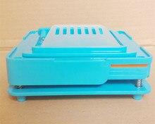 100 agujeros Máquina manual de llenado de cápsulas máquina de cápsulas farmacéuticas relleno tamaño 0 para DIY cápsulas de hierbas píldora droga Novel Life