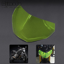 Hot Sale For Yamaha MT09 FZ09  MT-09 FZ-09 2013-2016 Motorcycle ABS Headlight Screen Protective Cover