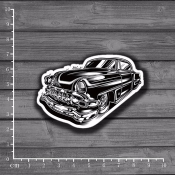 Retro Classic Cars DIY Scrapbooking Stationery Sticker Decor For Ablum Diary Scrapbookin Laptop Notebook School Supplies[Single] image