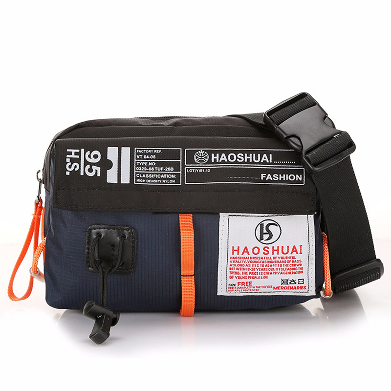 Wellvo Multifunctional Waist Packs Women Men Portable Nylon Flap City Chest Bags Phone Wallet Waterproof Travel Pouch XA123WC
