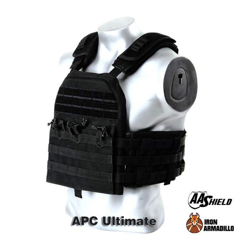 все цены на APC Armadillo Plate Carrier Ballistic Tactical Molle Gear Body Armor 10X12 Black Bullet Proof Vest IIIA Soft Armor Variety Kit
