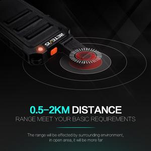 Image 3 - Mini Walkie Talkie 2pcs Retevis RT619 PMR Radio PMR446 Ultrathin fuselage 1 2Km Handy Two way Radio FRS RT19 For Hiking/Camping
