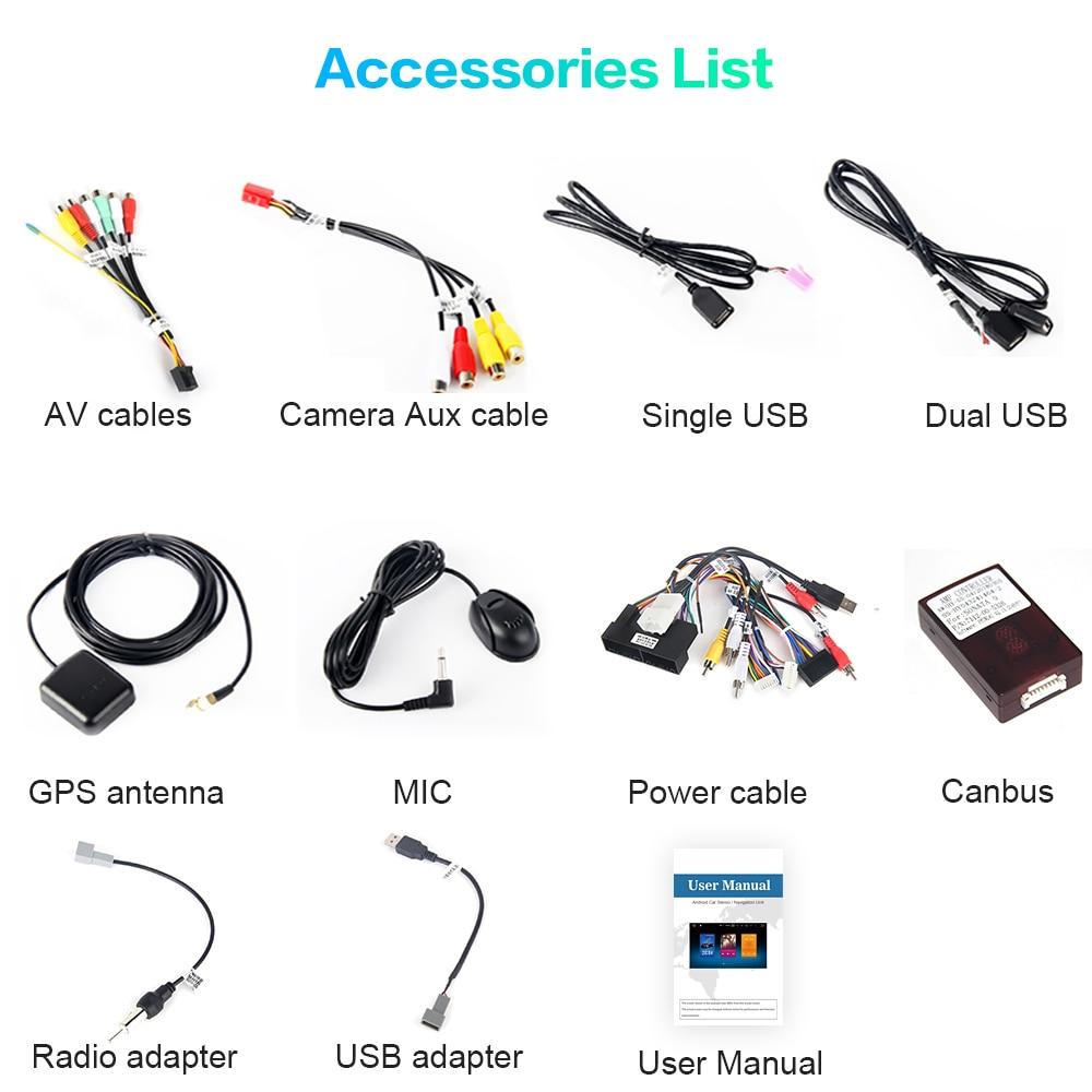 Cheap Dasaita Car Radio 1 Din Android 9.0  for Hyundai IX45 2013 2014 2015 Autoradio 64GB ROM MP3 HDMI Car Stereo 5