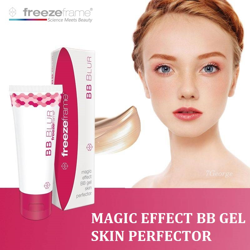 Australia Freezeframe BB Blur Cream Magic Effect BB Gel Skin perfector Wipe away Wrinkles Enlarged pores Skin tone correction тональный крем the saem porcelain skin bb cream spf30 ра 02