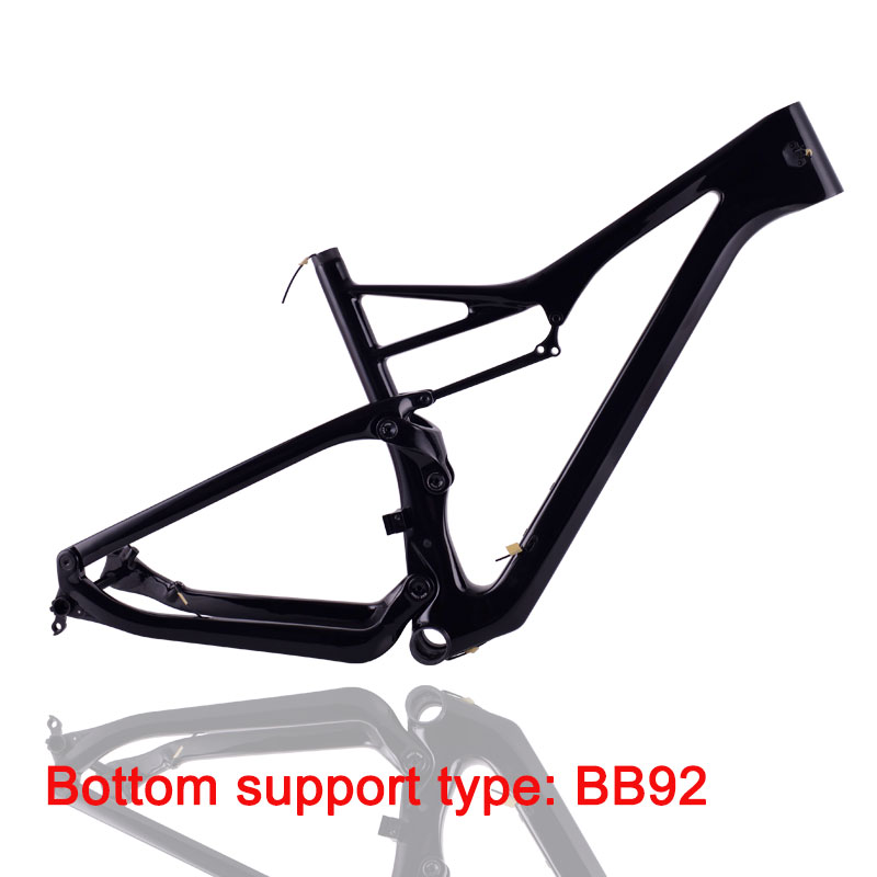 TRIFOX  Carbon Mtb Frame 29er Suspension MTB Frame 148 * 12mm Bicycle Frame Dropshipping