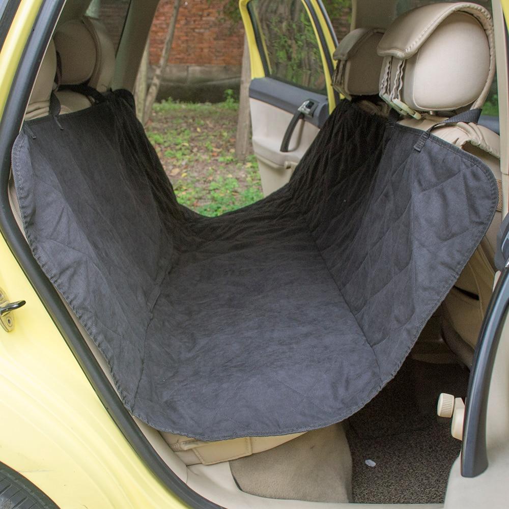 Quilted Suede Stoff pet auto sitzbezug für sicherheit sitz pet hund ...
