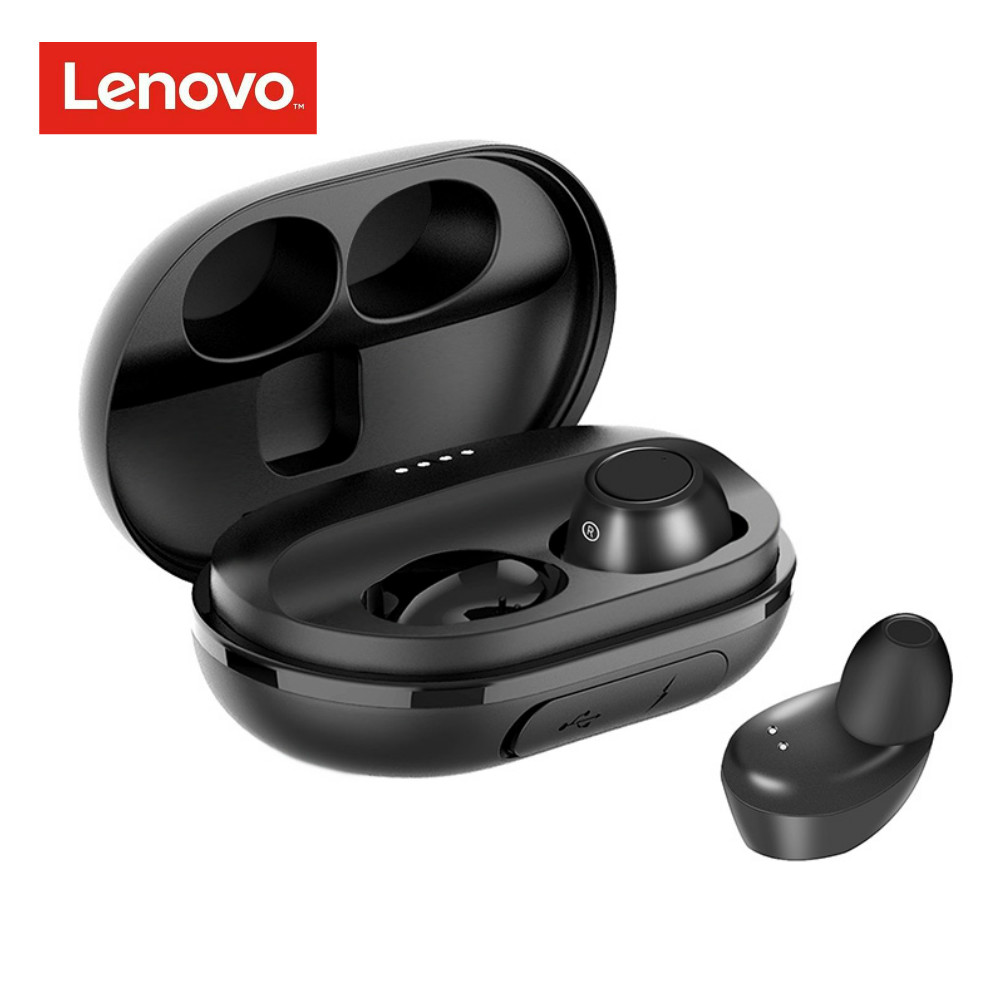 Lenovo Sport Headset Earphone Earbuds Bluetooth IPX5 Business TWS Handsfree Waterproof