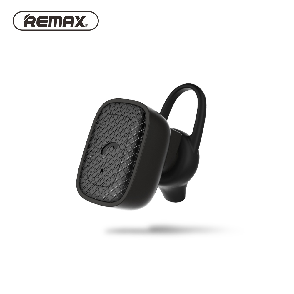REMAX T18 Mini Bluetooth Earphone with HD Mic Wireless Headset Clear Sound Earbud Bluetooth V4.1 Cancelling Noise for iphone new dacom carkit mini bluetooth headset wireless earphone mic with usb car charger for iphone airpods android huawei smartphone