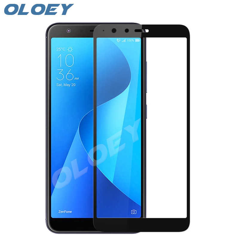 For Asus Zenfone Max Plus M1 ZB570TL Tempered Glass Full Cover 9H Front Screen Protector Film On ZB 570TL ZB570 TL X018D 5.7""
