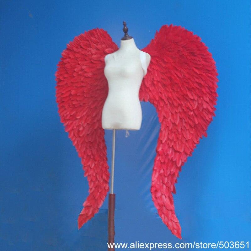 DIY украшения серии ангела поставка Большие размеры красные крылья феи свадебное грандиозное мероприятие Пасхальная съемка реквизит EMS Бесп... - 2