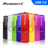 MicroDate USB 3,0 Pen drive 16 GB 32 GB 64 GB 128 GB USB Flash Drive OTG cle usb flash memoria Stick capacidad Real pendrive 3,0