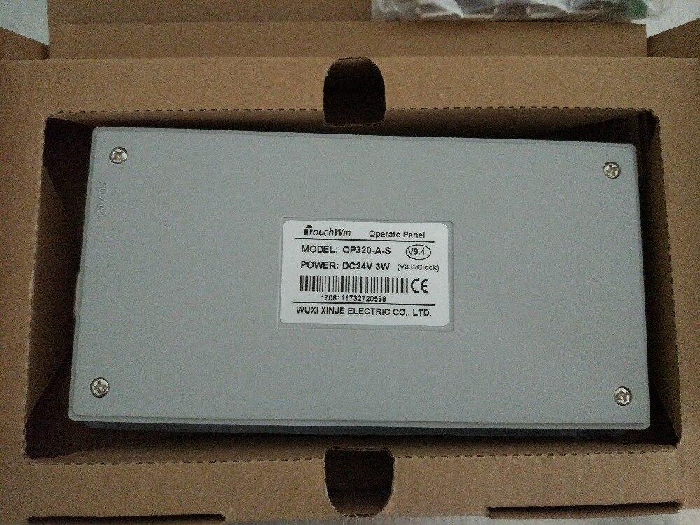 OP320-A-S XINJE Touchwin kezelőpanel STN LCD egyszínű 20 gomb új, - Szerszámgépek és tartozékok - Fénykép 2