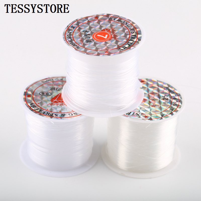 Non-elastic Transparent Strong Crystal Beading Line Cord Thread String For Jewelry Making Necklace Bracelet DIY Accessories