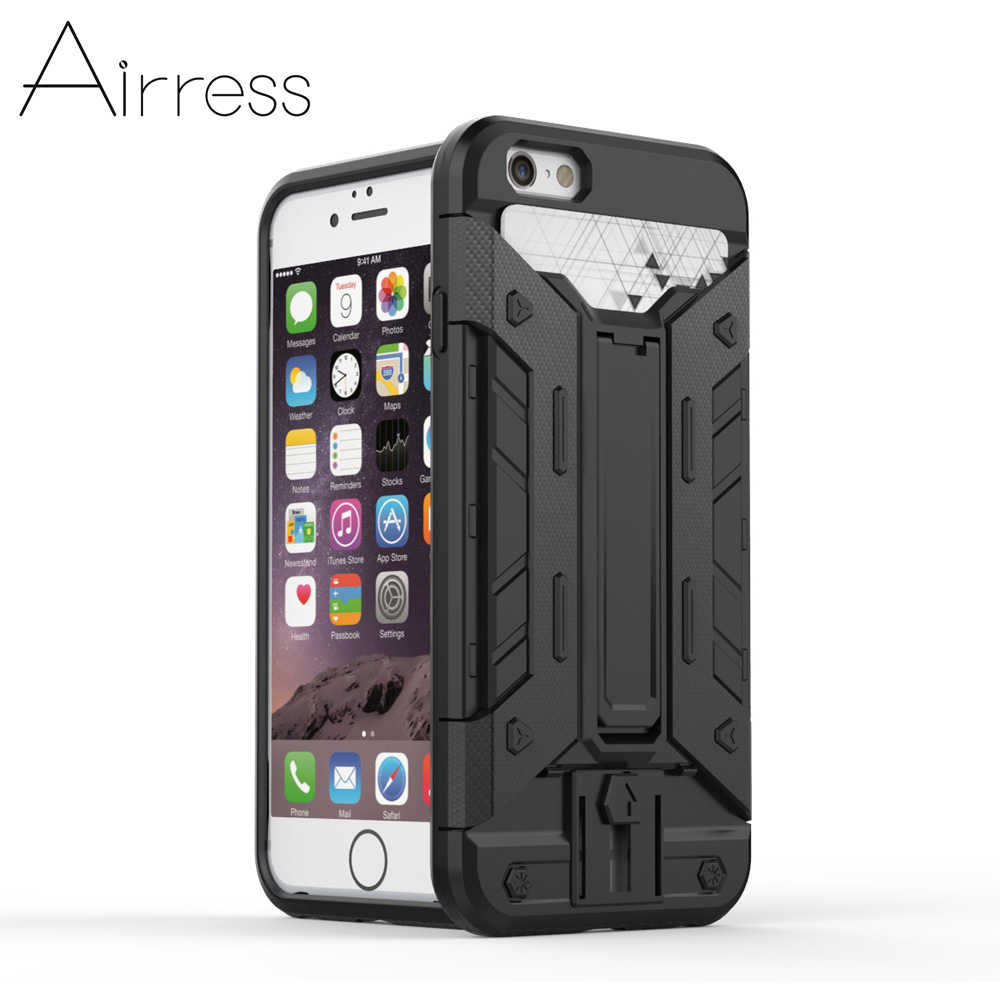 military grade iphone case armor rugged grade phone kickstand card 6931