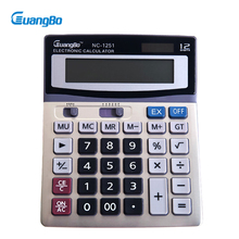 Guangbo Calculator High Quality Solar Or Battery School Supplies Office Useful Big Display Desktop Portable Calculators