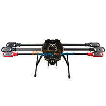 HMF S680 Carbon Fiber 6-Axis Solder PCB Folding Hexacopter Frame Kit with Landing Gear