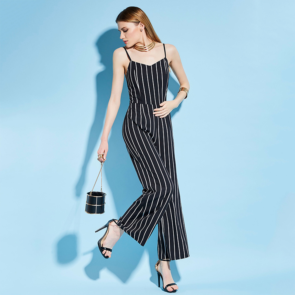 HTB18.gJXaagSKJjy0Fcq6AZeVXa4 - Women Stripe Rompers Long Pants Jumpsuit JKP390