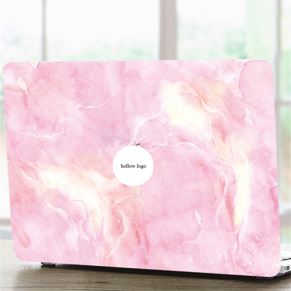 Laptop Case Cover for Macbook Air Pro Retina Touchbar 11 12 13 15 Watercolor ink Painting Pattern Exquisite Protector Shell