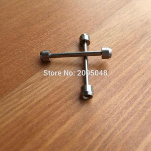 Image 2 - 28mm hexagon นาฬิกาสกรูหลอด rod สำหรับ TS Tissot T race T   sport T048 motoGP นาฬิกาอะไหล่เครื่องมือ (rose gold/สีดำ/สีเงิน)