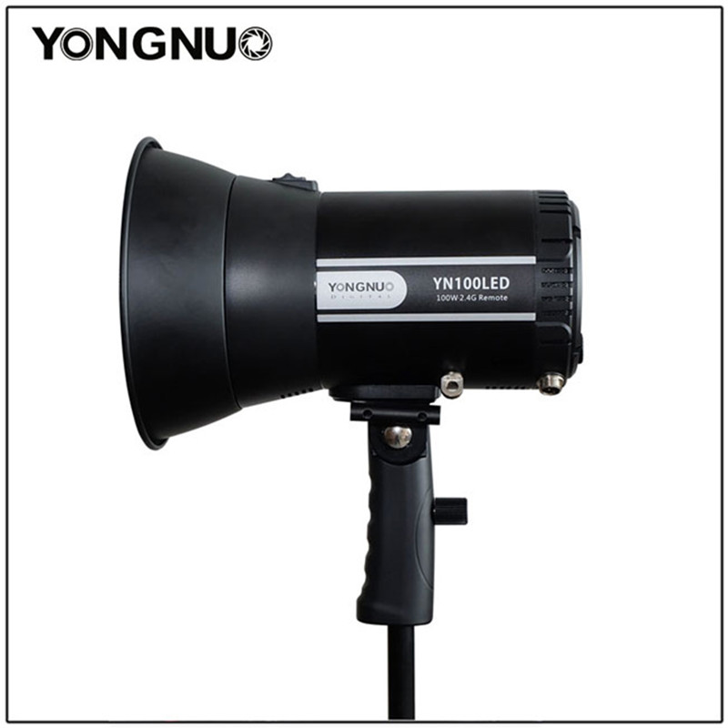 YONGNUO YN100LED 100W High Power LED Video Light Sun Light 5500K CRI90 2.4G Wireless Remote Control for Canon Nikon DSLR Camera godox led 308y 308 leds professional led video 3300k light with remote control for canon nikon camera dv camcorder