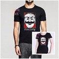 Moda Mr Robot Fsociety Camiseta la Piratería Informática Hombres O Las Mujeres cuello del Algodón Camiseta Símbolo Hacker Anónimo Virus TV Serie camisa