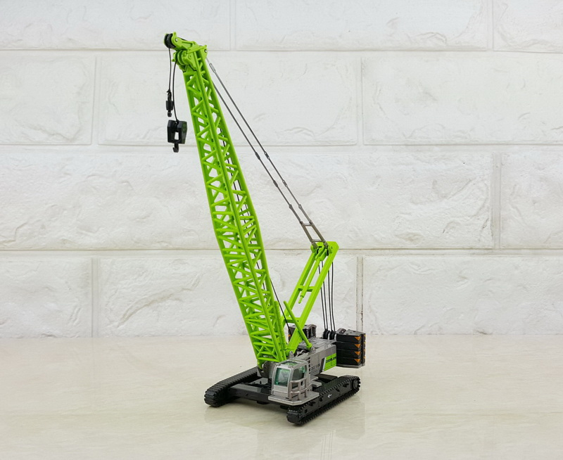Collectible Alloy Model Gift 1:120 Scale ZOOMLION ZCC1300 Crawler Crane Tower Engineering Machinery DieCast Toy Model Display