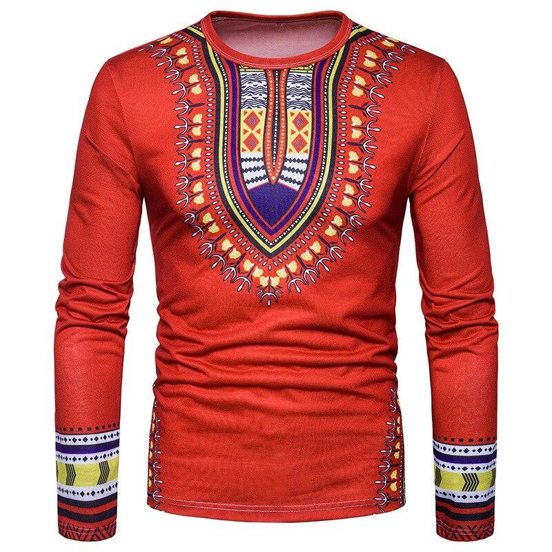 ИП. g. S 2018 осень-зима Творческий Товары источник Европейский новый код Для мужчин творческих людей 3D печатных Длинные рукава футболка ...